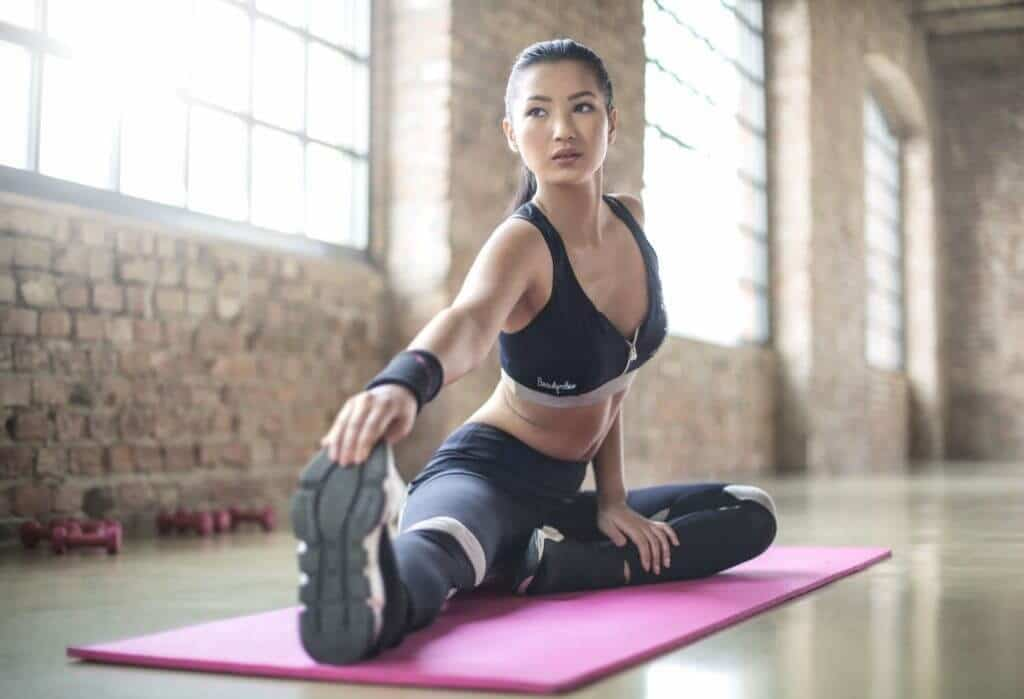 récupérer après l'exercice stretch
